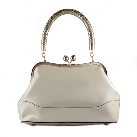 connie bag cream front