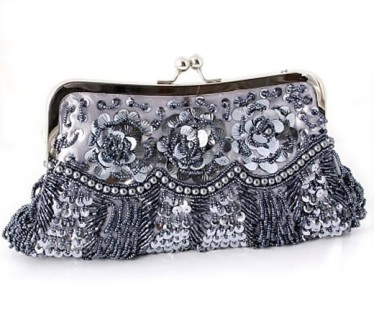Silver_Evening_Bag_Beaded_Sequin_Satin_Fashion_Nouveau
