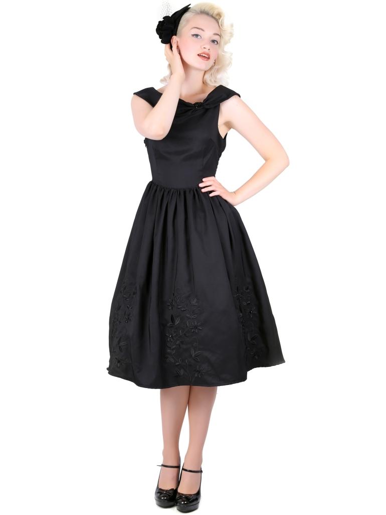 Kate Doll Dress Black