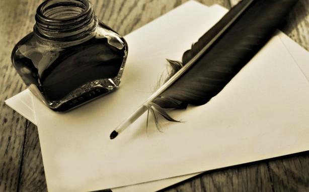 écriture-plume